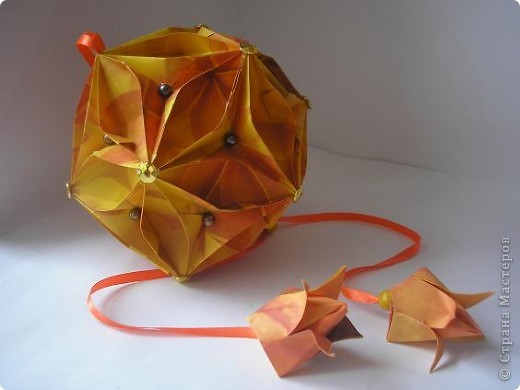 Вот, вдохновляясь работами наших Мастеров  - Елена Борисовна, натолкнула меня на создание очередного грейпфрукта. фото 5
