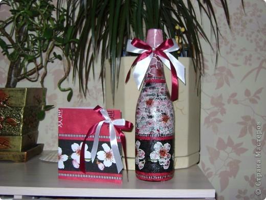 Открыточка и бутылочка. фото 1