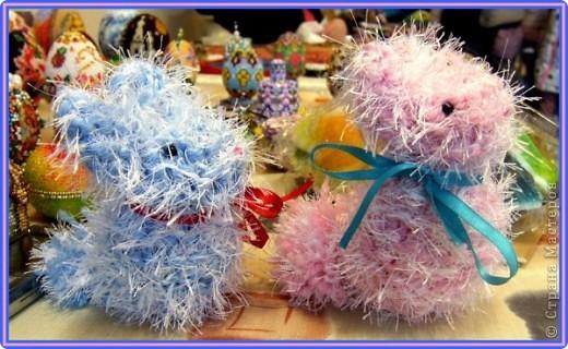 мои вязаные грызуны (зайчатки) фото 2