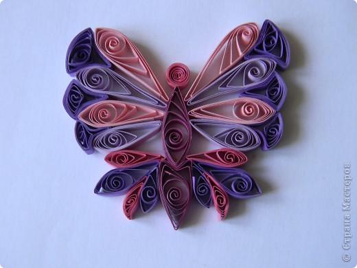 Моя первая бабочка.Я не думала что получится так красиво! фото 3