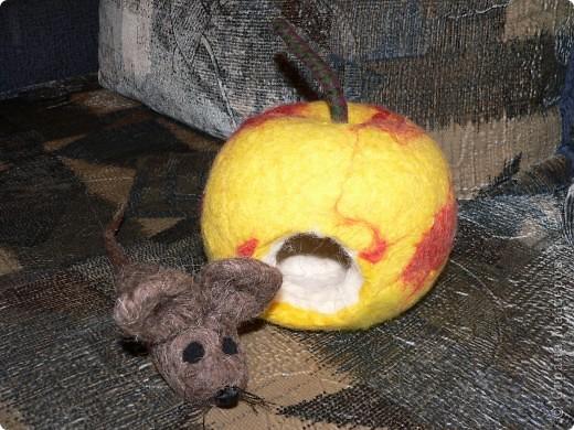 Яблоко-домик. Игрушка произвела фурор среди детей. фото 2
