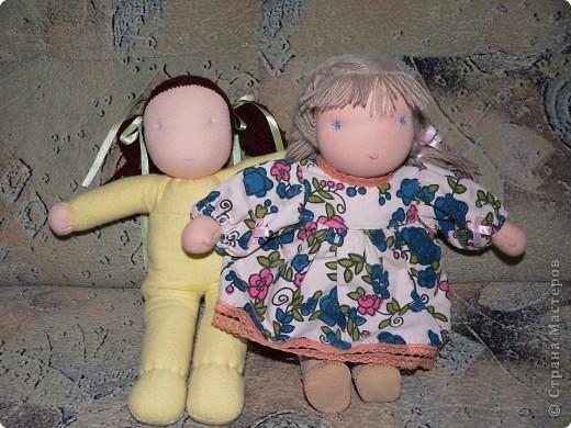 фото нескольких кукол, которые я шью своим дочкам фото 1