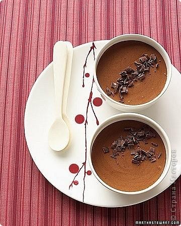 Горячий шоколад  Ингредиенты:  1 литр молока 200 г шоколада (горького или молочного) 2-3 ст.л. (без верха) крахмала (картофельного)   Приготовление: 1. Крахмал развести в 1 стакане молока. 2. Остальное молоко вылить в кастрюлю, поставить на средний огонь, добавить шоколад.  3. Нагревать до тех пор, пока шоколад не растворится. 4. Добавить молоко с крахмалом, хорошо перемешать, нагревать до тех пор, пока масса не начнет густеть.  5. Убрать с огня.  6. Подать горячим.  Рецепт от Анастасии Скрипкиной.