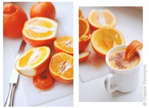 Для заболевающих и захандревающих попробовать обязательно:  -выжимаете апельсиновый сок -на 1\4 разбавляете водой -добавляете ложку меда -разогреваете в микроволновке -посыпаете корицей  ух, как пробирает_))))