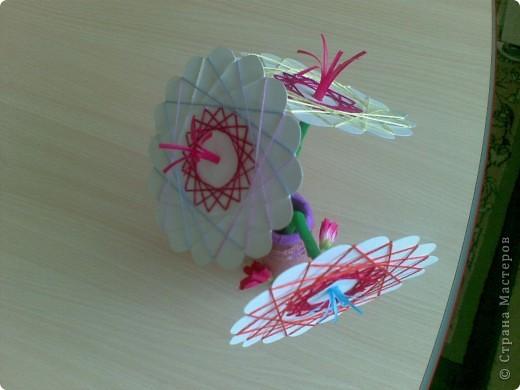 Такие веселые цветы сделали с детками за два занятия. фото 9