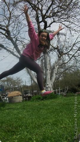 Доброго весеннего дня вам, мои дорогие! Вчера мы были на даче и конечно же доча вооружившись фотоаппаратом искала красоту :) фото 16
