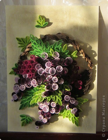 Корзинка винограда фото 1