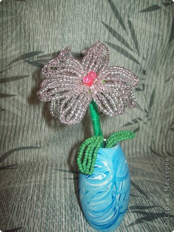 Сегодня я смастерила вот такой цветочек. Только название я не придумала. фото 1