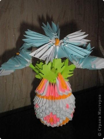 Первый опыт модульного оригами  фото 4