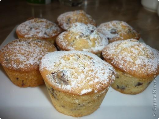 Это еще один любимый рецепт кексов,который я готовлю.Нашла его на любимом сайте http://www.say7.info.Получается не приторный,несмотря на присутствие в рецепте шоколада. фото 1
