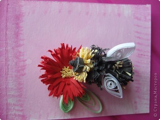"""№10 """"Пчелка на цветке"""" фото 1"""
