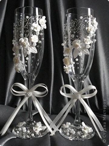 свадебные бокалы фото 11