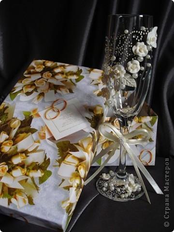 свадебные бокалы фото 12