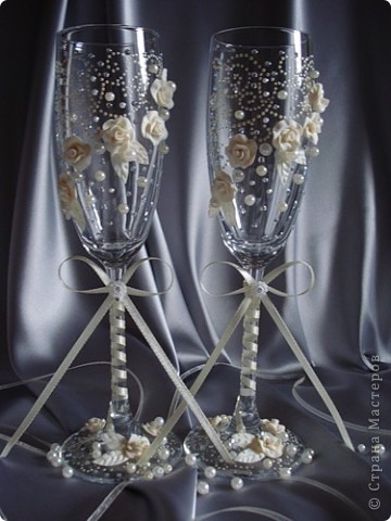 свадебные бокалы фото 13