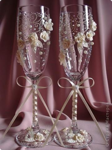 свадебные бокалы фото 14
