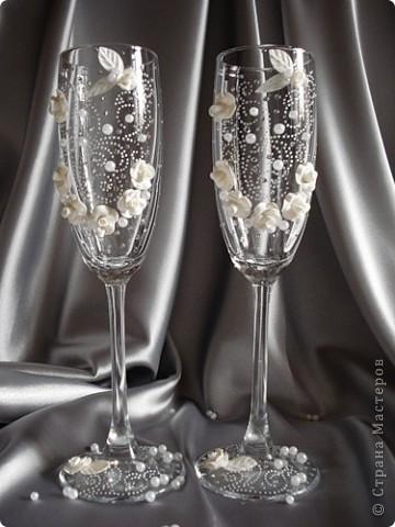 свадебные бокалы фото 15