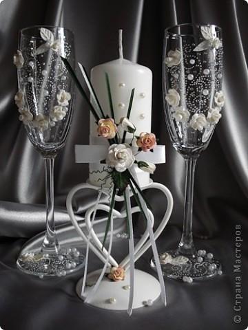 свадебные бокалы фото 16