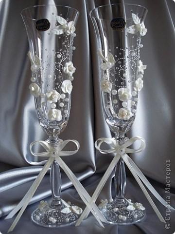 свадебные бокалы фото 17