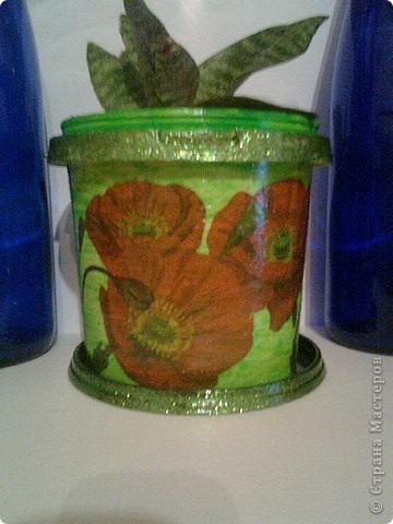 горшки для цветов из майонезных ведер фото 2