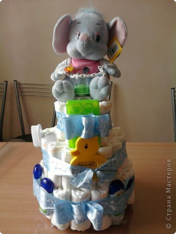 Тортик для Александра Дмитриевича! (Сделан на скорую руку)
