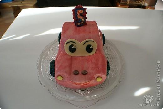 Тортик-машинка фото 2