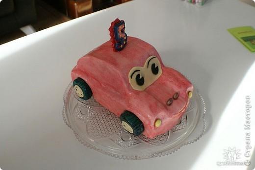 Тортик-машинка фото 1