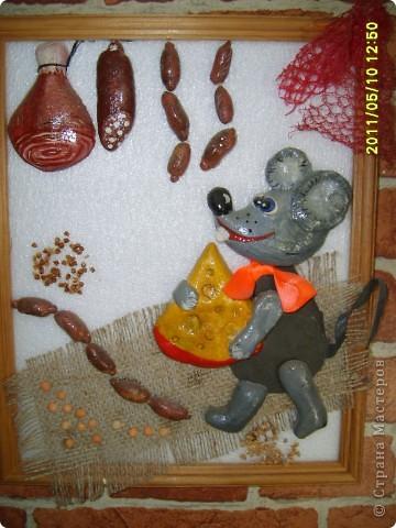 Запасливый Мышонок