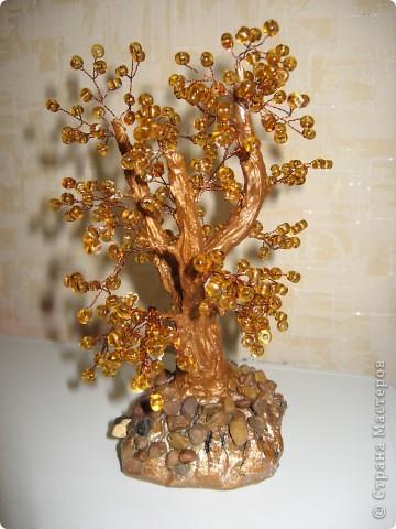 дерево из бусин фото 1