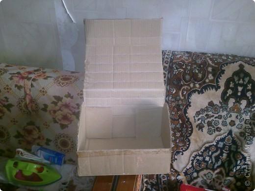Вот такая коробочка у меня получилась. Здесь не нашла мк. Так что, решила сделать сама. Мк делаю первый раз, так что не обессудьте. фото 3