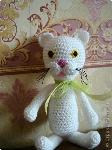 Для пополнения коллекции дочки связала вот такие игрушки-амигуруми. фото 2