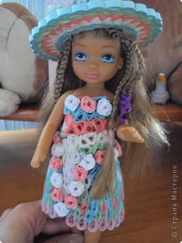 элегантный наряд для куколки фото 6