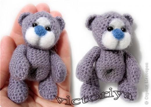 У нас появилась новая мишка - малышка ))) фото 3