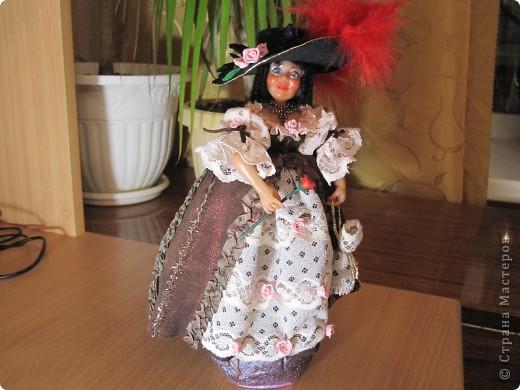 Дама с розой  фото 1