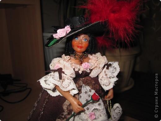 Дама с розой  фото 2