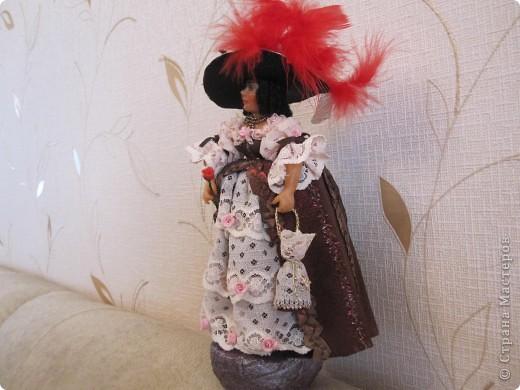 Дама с розой  фото 4