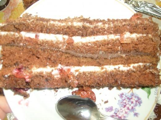 """Торт """"Мамина радость"""" был приготовлен на день рождение мамы , очень порадовал нас. Спасибо за рецепт Мусичке http://stranamasterov.ru/node/160118?c=favorite фото 5"""
