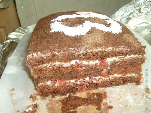 """Торт """"Мамина радость"""" был приготовлен на день рождение мамы , очень порадовал нас. Спасибо за рецепт Мусичке http://stranamasterov.ru/node/160118?c=favorite фото 4"""