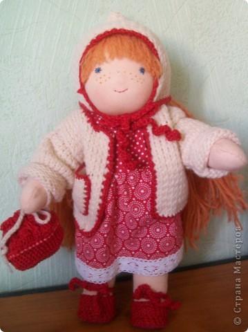 Вальдорфская кукла фото 3