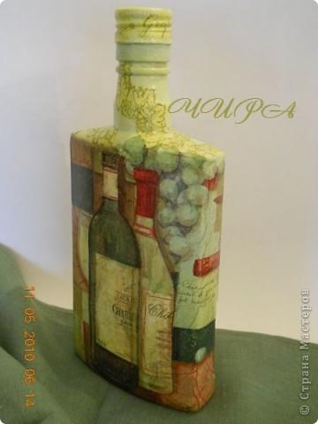 Бутылочка за праздники сделалась. фото 2