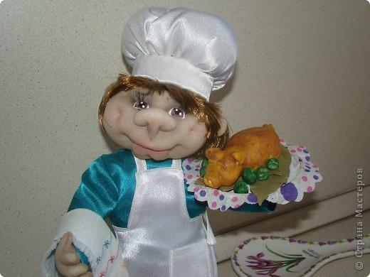 Насмотрелась на замечательных поваров мастериц нашей необъятной Страны и тоже захотелось сделать поваренка. фото 6