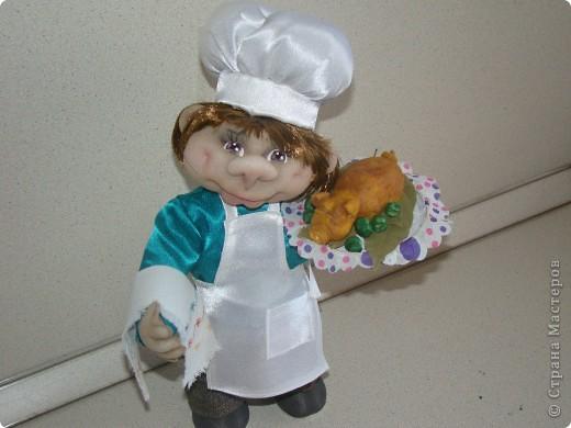 Насмотрелась на замечательных поваров мастериц нашей необъятной Страны и тоже захотелось сделать поваренка. фото 5