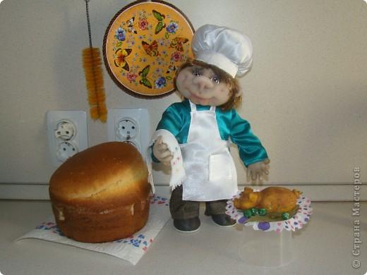 Насмотрелась на замечательных поваров мастериц нашей необъятной Страны и тоже захотелось сделать поваренка. фото 4