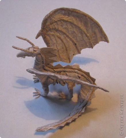 Как обещала, показываю этапы создания дракона. Маленький Элиот-хранитель.  фото 12