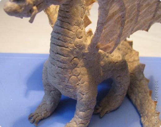Как обещала, показываю этапы создания дракона. Маленький Элиот-хранитель.  фото 16