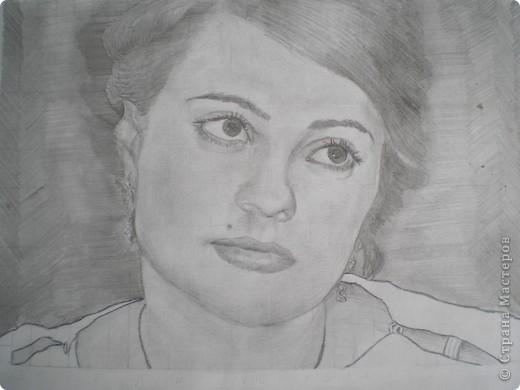 Мой портрет карандашом фото 1
