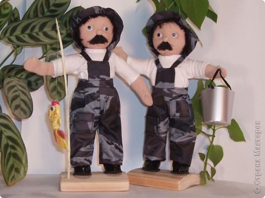 Вальдорфские куклы моей мамы. фото 2