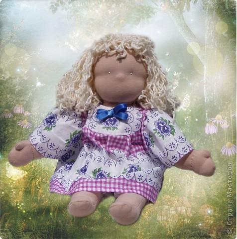 Вальдорфские куклы моей мамы. фото 4
