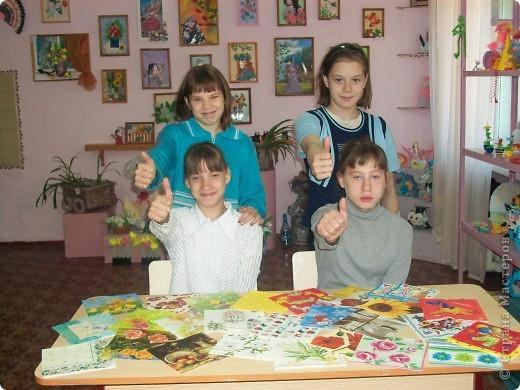 Ура!Ура!Мы получили посылочку с салфетками.Огромное спасибо Людмиле Анатольевне из Новокузнецка.