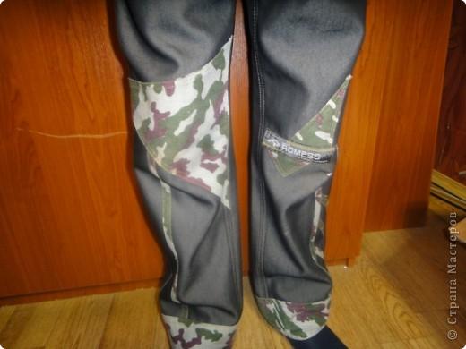 переделка брюк фото 2