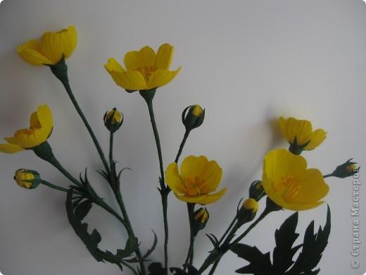 Цветок лютик своими руками